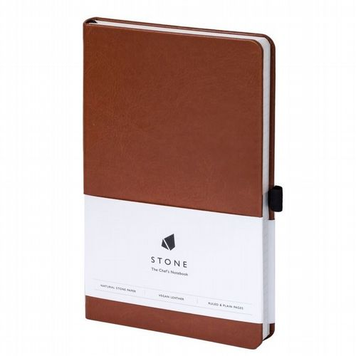 Water & Greaseproof Chef's Notebook - Tan